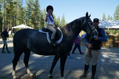 Quinn's FIRST Blue Ribbon
