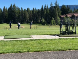 """Had some """"Free Time"""" so we went to the Driving Range"""